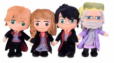 (Mis 3) HARRY POTTER Peluche 30cm - 4 ass...x20