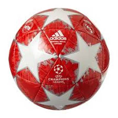 (Mis 5) PALLONE ADIDAS CHAMPION Real Madrid (bianco/rosso)...x20
