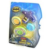 BATMAN Battle Spinnig Tops