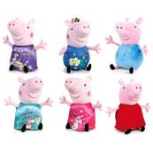 (Mis 1) PEPPA PIG IT' MAGIC 18cm - 6ass soft....x144