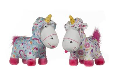 (Mis 5) MINION UNICORNO vestito 38cm - GIFT - 2ass...x24