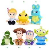 (Mis 1) TOY STORY 4 Peluche 20cm - 7 ass...x48